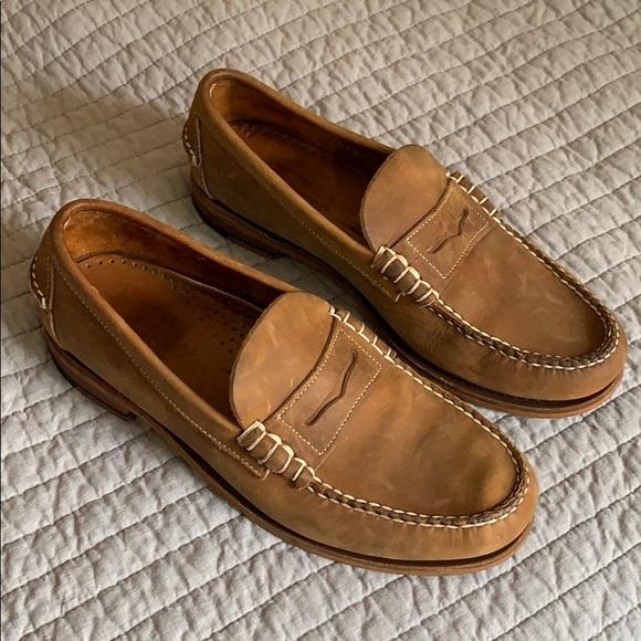 discount shop lowest price pick up SALE ☀️Sebago Men's Leather Penny Loafer